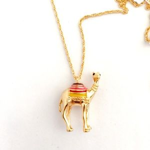 Kate spade camel necklace